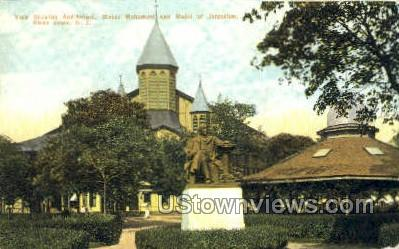 Monument  - Ocean Grove, New Jersey NJ Postcard