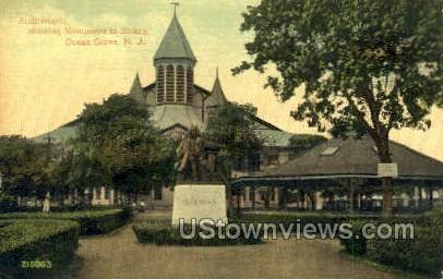 Auditorium - Ocean Grove, New Jersey NJ Postcard