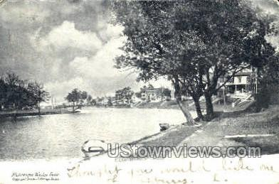 Wesley Lake - Ocean Grove, New Jersey NJ Postcard