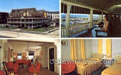 Spray View Hotel - Ocean Grove, New Jersey NJ Postcard