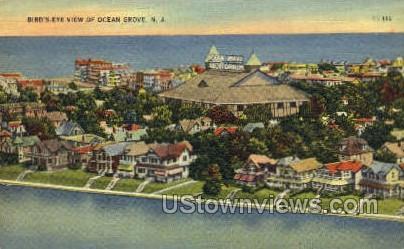 Ocean Grove, New Jersey, NJ Postcard