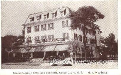 Grand Atlantic Hotel - Ocean Grove, New Jersey NJ Postcard