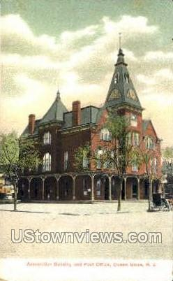 Association Building And Post Office - Ocean Grove, New Jersey NJ Postcard