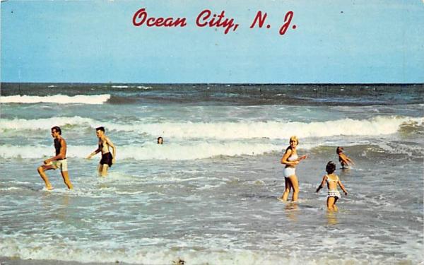 Ocean City New Jersey Postcard