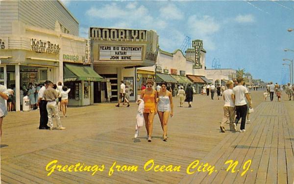Finest Resort on the Jersey Coast Ocean City, New Jersey Postcard