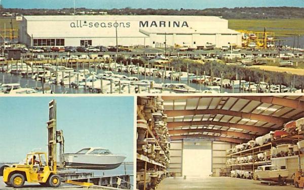 All Seasons Marina Ocean City, New Jersey Postcard