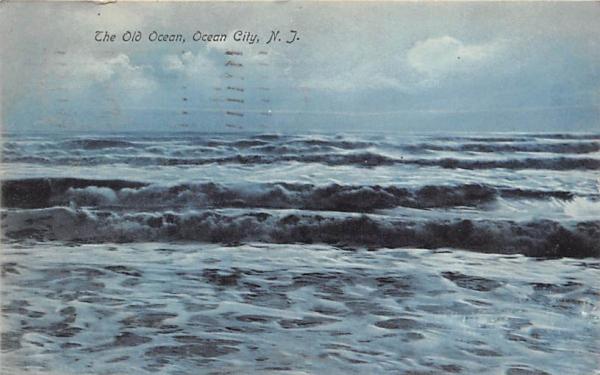 The Old Ocean Ocean City, New Jersey Postcard