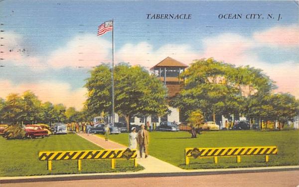 Tabernacle  Ocean City, New Jersey Postcard