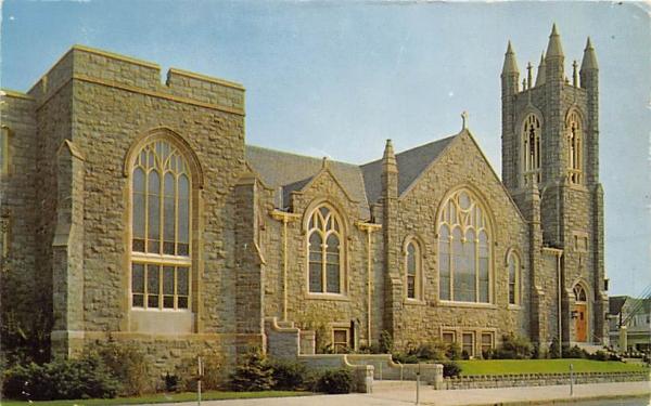 First Methodist Church Ocean City, New Jersey Postcard