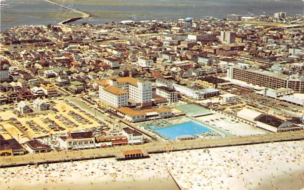 The Flanders Hotel  Ocean City, New Jersey Postcard