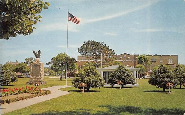 World Wars-Memorial Park Ocean City, New Jersey Postcard