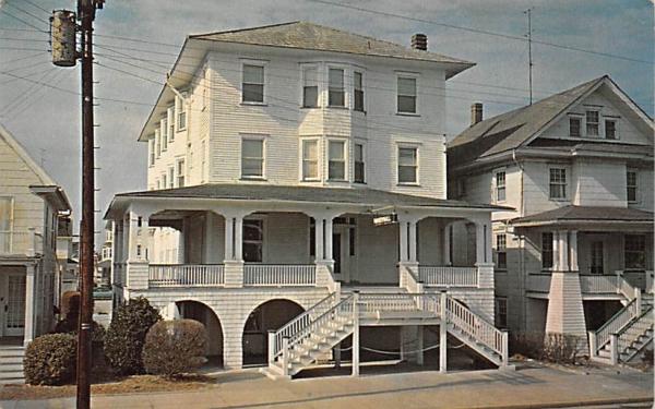 White Hall Ocean City, New Jersey Postcard