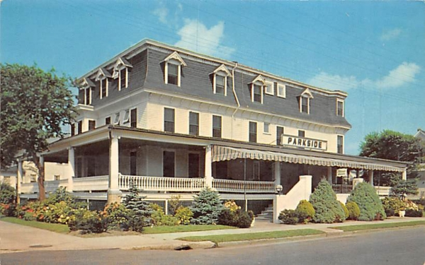 The Parkside Ocean City, New Jersey Postcard