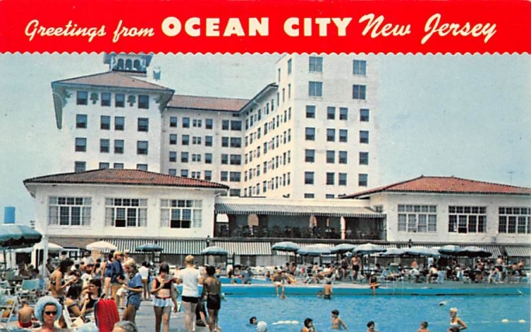Greetings from Ocean City, New Jersey, USA Postcard