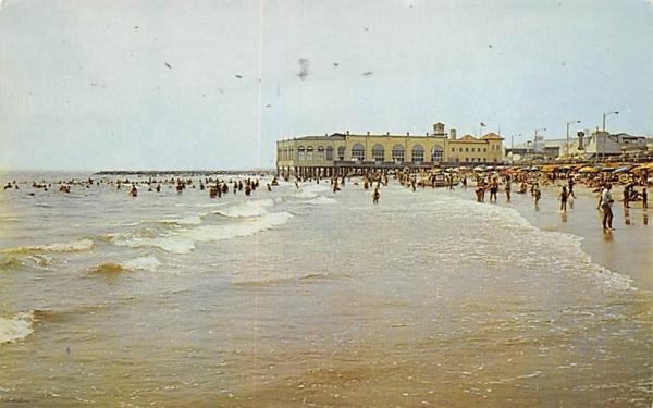 Beach View & Rolling Surf Ocean City, New Jersey Postcard