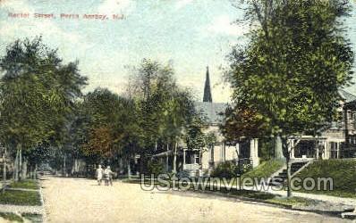 Rector Street  - Perth Amboy, New Jersey NJ Postcard