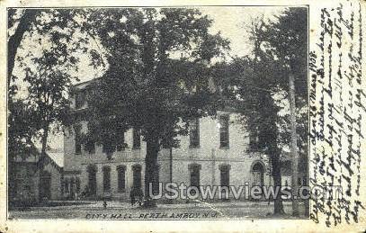 City Hall  - Perth Amboy, New Jersey NJ Postcard