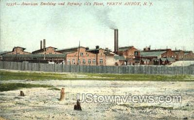 American Smelting And Refining  - Perth Amboy, New Jersey NJ Postcard