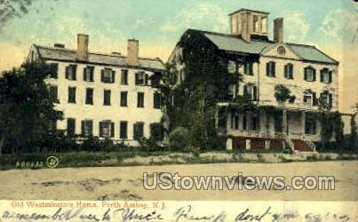 Old Westminsters Home  - Perth Amboy, New Jersey NJ Postcard