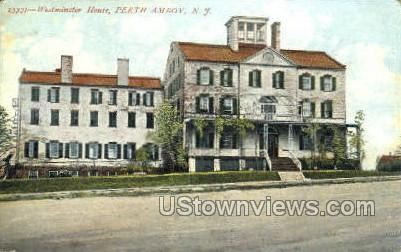 Westminster House - Perth Amboy, New Jersey NJ Postcard