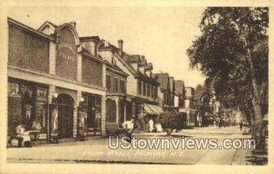 Broad Street  - Palmyra, New Jersey NJ Postcard