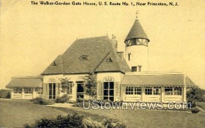 The Walker Gordon Gate House  - Princeton, New Jersey NJ Postcard