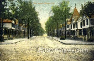 West Avenue  - Pitman, New Jersey NJ Postcard