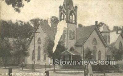 Me Church  - Pitman, New Jersey NJ Postcard