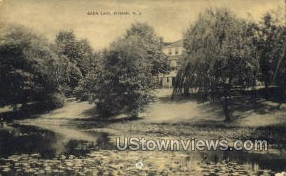 Glen Lake  - Pitman, New Jersey NJ Postcard