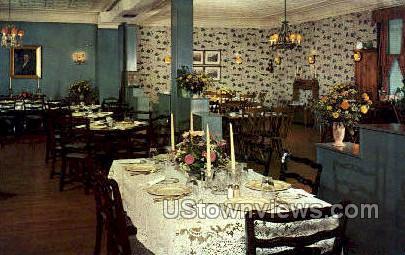 Clara Louise Tea Room  - Plainfield, New Jersey NJ Postcard