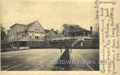 Park Club - Plainfield, New Jersey NJ Postcard