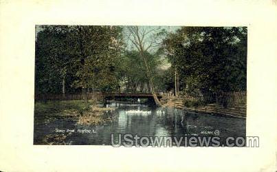 Stony Brook  - Plainfield, New Jersey NJ Postcard