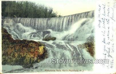 Wetumpka Falls  - Plainfield, New Jersey NJ Postcard