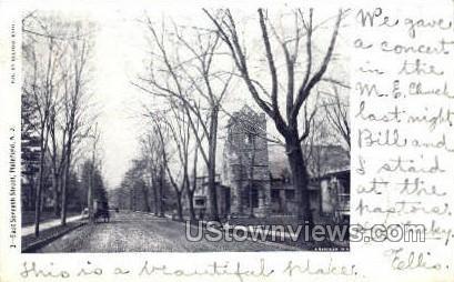 East Seventh Street - Plainfield, New Jersey NJ Postcard