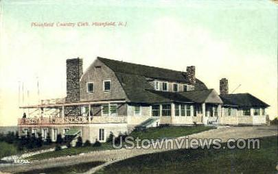Country Club - Plainfield, New Jersey NJ Postcard