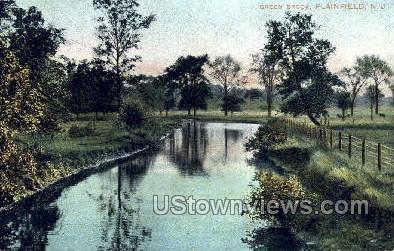 Green Brook - Plainfield, New Jersey NJ Postcard