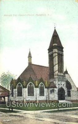 Seventh Day Baptist - Plainfield, New Jersey NJ Postcard