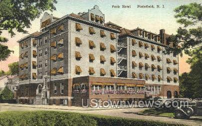 Park Hotel  - Plainfield, New Jersey NJ Postcard