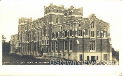 Princeton University Real Photo - New Jersey NJ Postcard