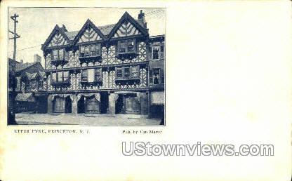 Upper Pyne  - Princeton, New Jersey NJ Postcard