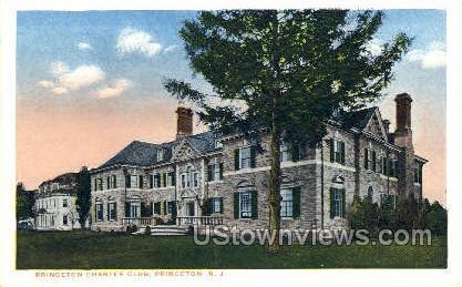 Princeton Charter Club - New Jersey NJ Postcard