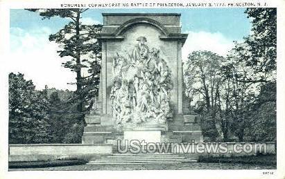 Commemorating Battle Of Princeton - New Jersey NJ Postcard
