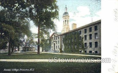 Nassau College - Princeton, New Jersey NJ Postcard