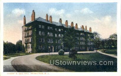 Albert B Dod Hall  - Princeton, New Jersey NJ Postcard
