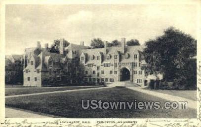 Lockhardt Hall - Princeton, New Jersey NJ Postcard