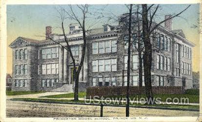 Princeton Model School - New Jersey NJ Postcard