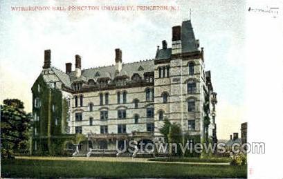 Witherspoon Hall Princeton U - New Jersey NJ Postcard