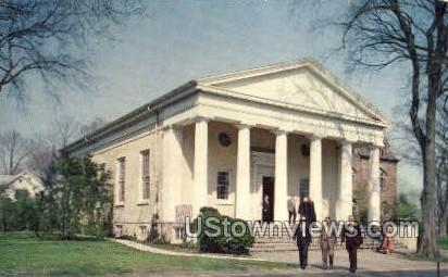 Miller Chapel  - Princeton, New Jersey NJ Postcard