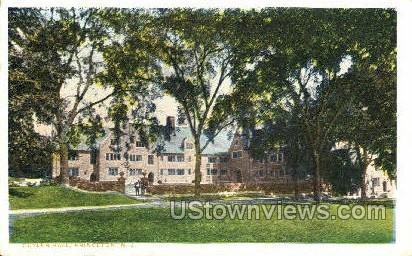 Cuyler Hall  - Princeton, New Jersey NJ Postcard