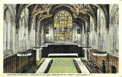Proctor Dining Hall  - Princeton, New Jersey NJ Postcard